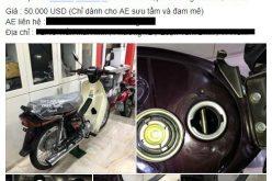 Honda Dream Thái đời 2002 rao bán… 1,2 tỷ đồng