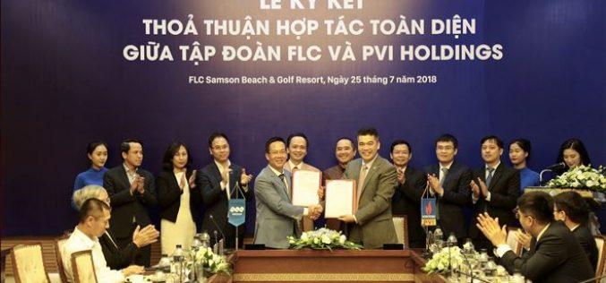 PVI và FLC ký thỏa thuận hợp tác toàn diện