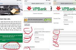 Hết giả danh công an, hacker giả mạo luôn ngân hàng để lừa đảo