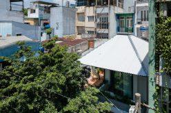 Ngôi nhà giống chiếc ô khổng lồ ở Sài Gòn