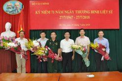 Bộ Tài chính tổ chức kỷ niệm 71 năm ngày Thương binh Liệt sỹ