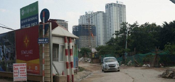 Địa ốc 24h: Đỉnh điểm nắng nóng chung cư cao cấp Ecolife Tây Hồ thiếu nước nghiêm trọng