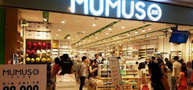 Sử dụng chữ KOREA nhưng hơn 99% hàng hóa Mumuso có xuất xứ Trung Quốc
