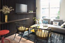 Căn hộ có cách trang trí nội thất sáng tạo