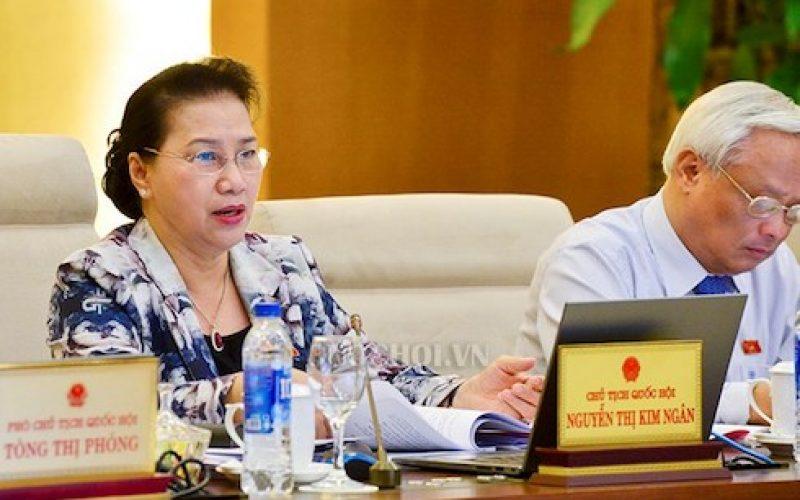 Chủ tịch Quốc hội yêu cầu giám sát việc thi hành Luật Quản lý nợ công