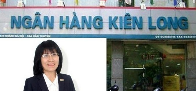 'Nữ tướng' Phạm Thị Mỹ Chi làm Phó tổng giám đốc Kienlongbank