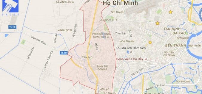 TP.HCM: Lập đồ án quy hoạch 2 khu dân cư tại quận Bình Tân