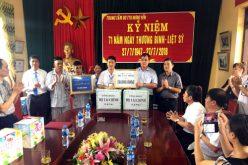 Tri ân các thương, bệnh binh tại Hưng Yên, Hà Nam