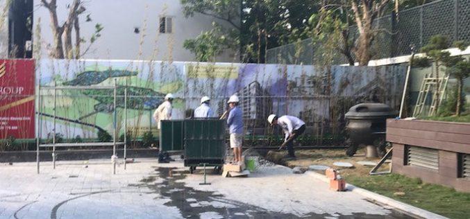 Địa ốc 24h: Dự án Riverside Garden thi công dở dang vẫn cho dân vào ở