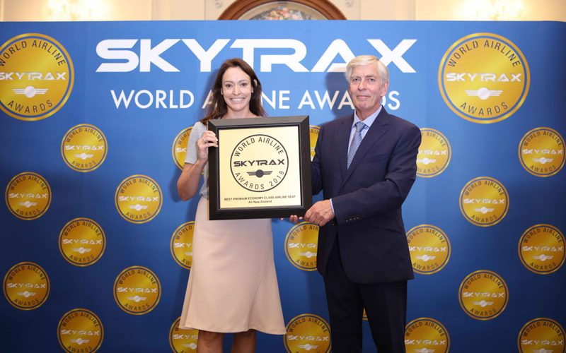Kết quả hình ảnh cho Air New Zealand đạt giải thưởng hạng ghế phổ thông đặc biệt tốt nhất thế giới