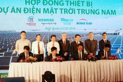 Siemens cung cấp thiết bị cho Nhà máy điện mặt trời lớn nhất Việt Nam