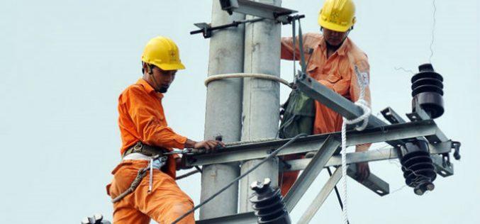 Thay đổi khung giá bán buôn điện của EVN cho các tổng công ty