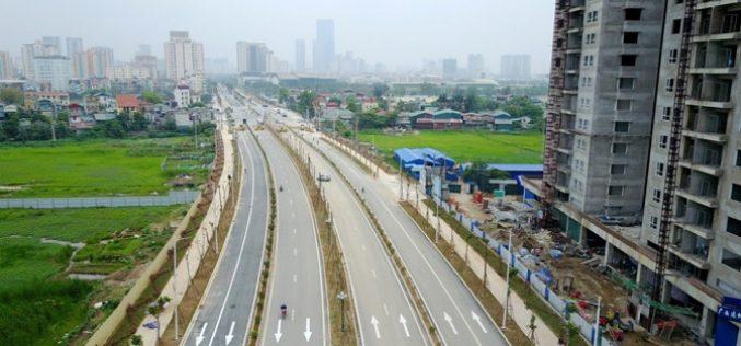 """Hà Nội lại muốn đổi 33,3ha """"đất vàng"""" lấy tuyến đường 3,9km"""
