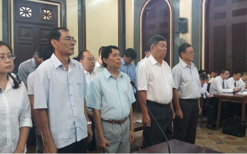 Cựu Tổng giám đốc Chứng khoán MHB lúng túng tại toà