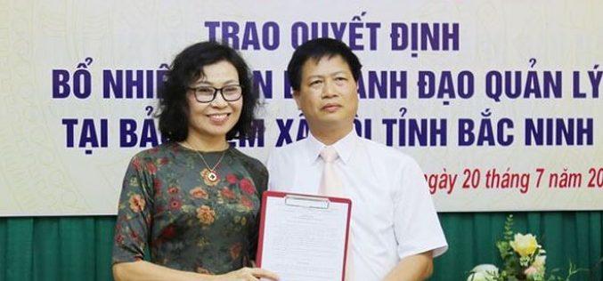 Bổ nhiệm Giám đốc BHXH tỉnh Bắc Ninh