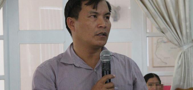 Đình chỉ Bí thư kiêm Chủ tịch xã để xảy ra lấn chiếm đất ở Bắc Vân Phong