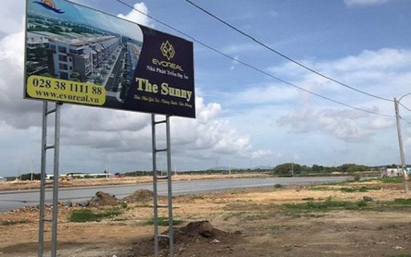 """Địa ốc 24h: Tràn lan dự án tự """"vẽ"""" trên đất muối để bán ở Bà Rịa Vũng Tàu"""