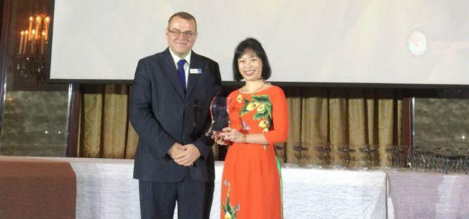 """Vietcombank nhận giải thưởng """"Ngân hàng có sản phẩm Mobile Banking sáng tạo hiệu quả nhất năm 2018"""""""