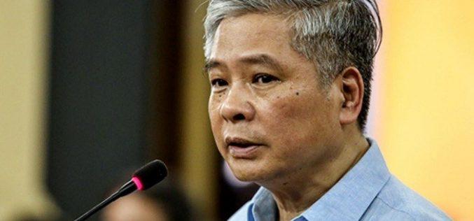 Nguyên Phó thống đốc Ngân hàng Nhà nước Đặng Thanh Bình bị tuyên án 3 năm tù