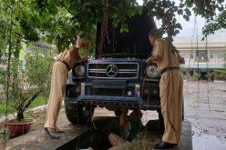 Mercedes Benz G55 mang biển số đỏ giả ở Cần Thơ có bị tịch thu?