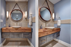 Vật dụng giúp phòng tắm gọn gàng, tiết kiệm diện tích