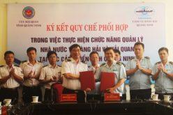 Hải quan và Cảng vụ Hàng hải Quảng Ninh ký quy chế phối hợp