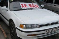 """Nhiều bài học xương máu khi mua xe cũ, khách hàng """"cẩn tắc vô ưu"""""""