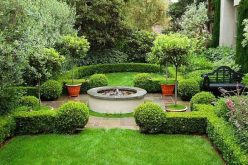 Những nguyên tắc thiết kế sân vườn vừa đẹp vừa ít công chăm sóc