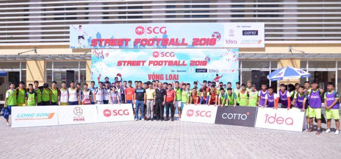 """Lộ diện những đội bóng """"đáng gờm"""" sẽ thi đấu vòng chung kết SCG Street Football 2018"""