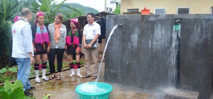 Bình Định hỗ trợ đầu tư công trình cấp nước sạch nông thôn