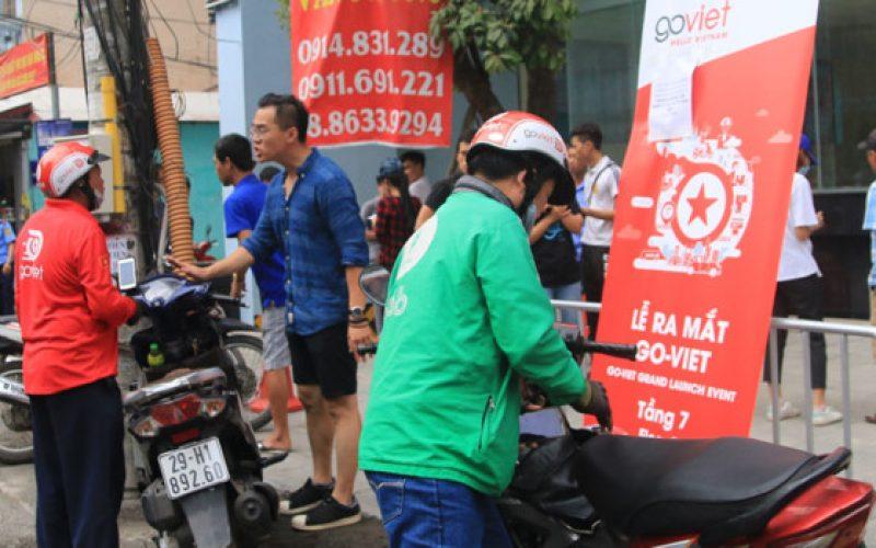 Sau TP.HCM, Hà Nội trở thành chiến trường mới của Go-Viet và Grab
