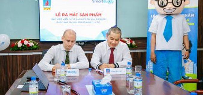 Bảo hiểm PVI và SmartBuddy hợp tác về bảo hiểm trực tuyến