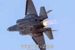Chiến đấu cơ tàng hình F-35 của Mỹ lần đầu tiên bị rơi