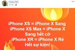 """Người dùng """"điên đầu"""" trước tên gọi mới của iPhone"""