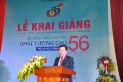 Học viện Tài chính khai giảng chương trình chất lượng cao khóa 56