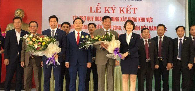 Văn Phú Invest tài trợ quy hoạch chung xây dựng khu vực phía Nam huyện Hoành Bồ