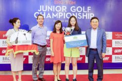 Tập đoàn BRG tổ chức thành công Giải golf trẻ BRG – VGM Junior Championship 2018