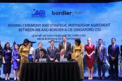 Ngân hàng Quân Đội ký kết thỏa thuận hợp tác chiến lược với Bordier & Cie Singapore