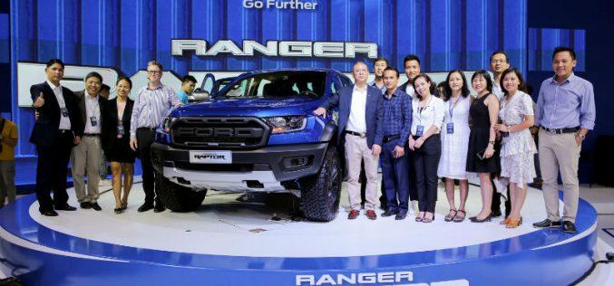 Ford ra mắt Ranger Raptor tại triển lãm ô tô Việt Nam 2018
