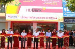 HDBank: Khai trương điểm giao dịch thứ 4 tại Hải Dương