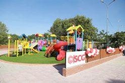 SCG xây dựng sân chơi chất lượng cao cho trẻ em xã Long Sơn, Bà Rịa Vũng Tàu