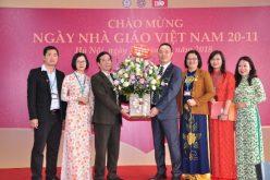 Học viện Tài chính: Viện Đào tạo quốc tế kỷ niệm Ngày Nhà giáo Việt Nam 20/11
