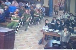 Bà Cao Ngọc Dung có mặt tại phiên xét xử ông Trần Phương Bình