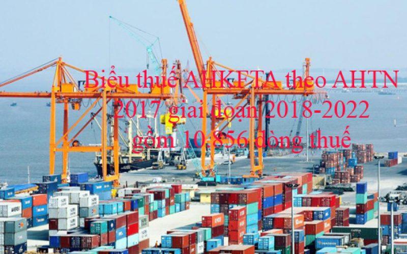 Nhiều dòng thuế sẽ thay đổi theo hiệp định AHKFTA