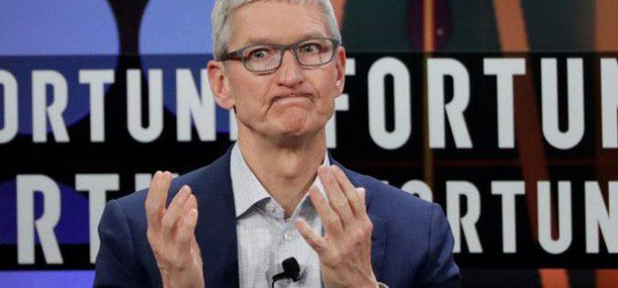 Apple gặp rắc rối nghiêm trọng, giá cổ phiếu sụt giảm 7%, nguy cơ đánh mất cột mốc giá trị 1.000 tỷ USD