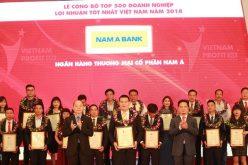 Nam A Bank – Top 500 doanh nghiệp lợi nhuận tốt nhất 2018