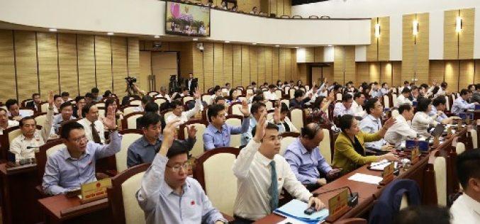 Hà Nội: Thông qua một số mức chi thuộc thẩm quyền HĐND thành phố