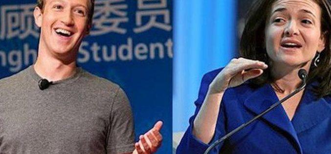 """Mark Zuckerberg đang tìm người thay """"nữ tướng"""" Sheryl Sandberg?"""