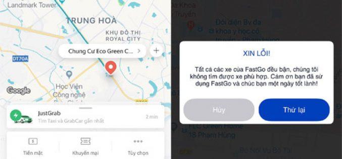 """Taxi truyền thống, công nghệ """"tê liệt"""" ngày Hà Nội chuyển mưa rét"""