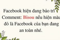 "Trò lừa bình luận ""Bisou"" để kiểm tra tài khoản Facebook"